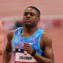 Bookie Athletics News – Christian Coleman Wins 100M Title