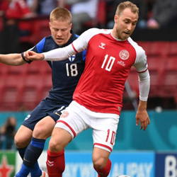 Sports Fans Worried After Christian Eriksen Collapsed in Denmark vs. Finland Game
