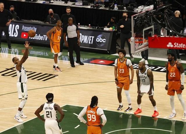 Bucks Leveled the NBA Finals Series at 2-2