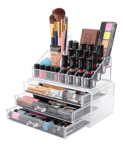Como armazenar suas maquiagens