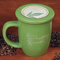 """""""Amazing Woman"""" Mug and Coaster Set"""