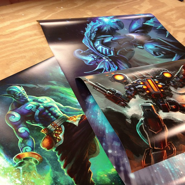 high quality poster printing
