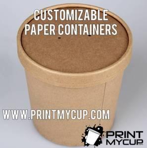 customized ice cream containers, ice cream pint containers custom print