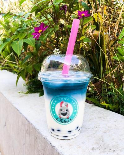 Custom Logo Clear Cups Chibu Asian Food Truck