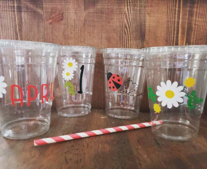 Custom Printed Clear Cups