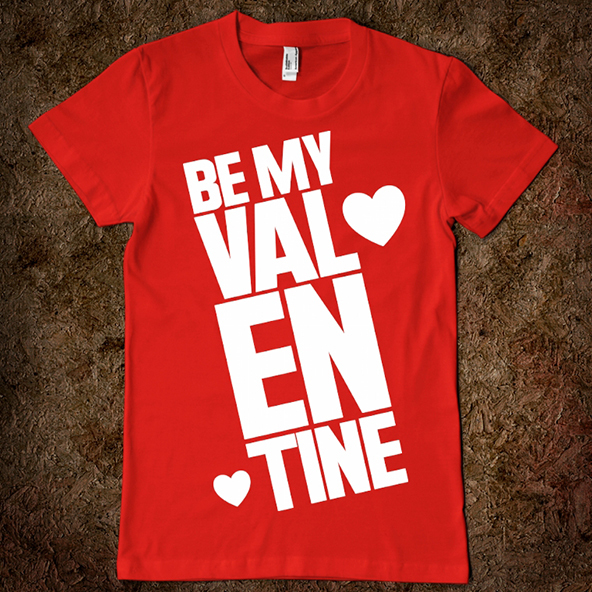 T Shirt Printing And Design Ideas For A British Valentine