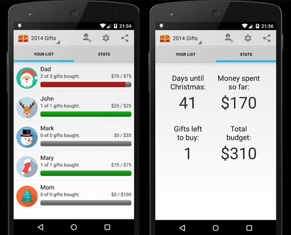 gift list app android giftsite co