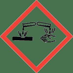 Hazard Communication Training - Corrosion Pictogram