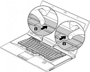 Udskift Tastatur på Lenovo Bærbar computer (L530, T430, T530)
