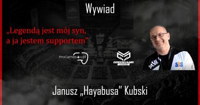 """Janusz """"Hayabusa"""" Kubski o Ł3 i sytuacji w VP"""