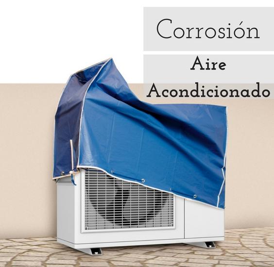 la corrosión en el aire acondicionado
