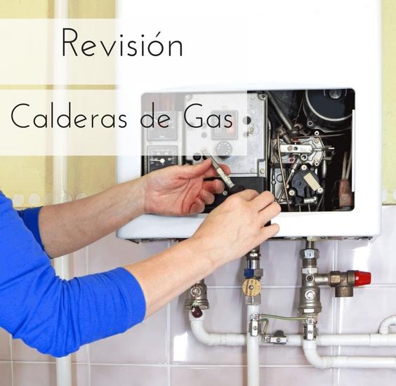Revisión de la caldera de gas