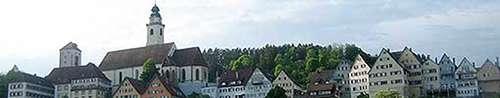 Wo liegt die Zukunft der Stadt, worauf setzen wir? Unter anderem diese Frage muss beantwortet werden, um sinnvoll Maßnahmen zu definieren. Hier die Stadtsilhouette von Horb am Neckar.