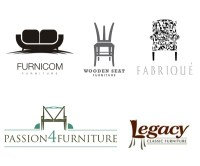 18 Creative Wood & Furniture Logo Designs for inspiration ...