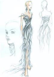 1000 sketch dress