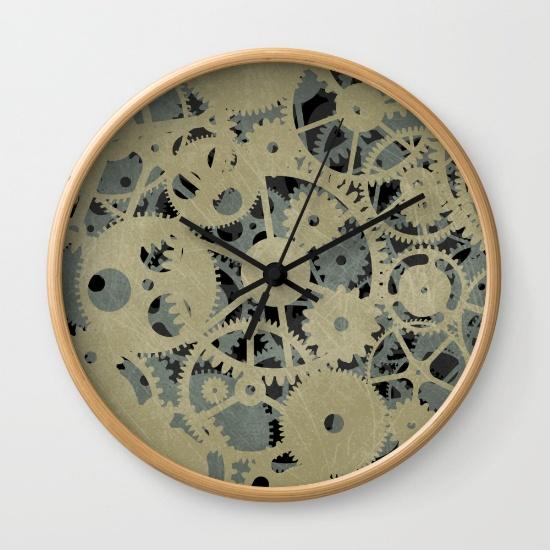 Cogs clock