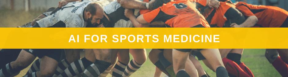 AI for Sports Medicine