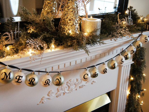Beautiful Fireplace Christmas Decorations On Decoration With