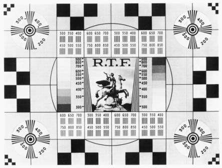 Carte de test - Image