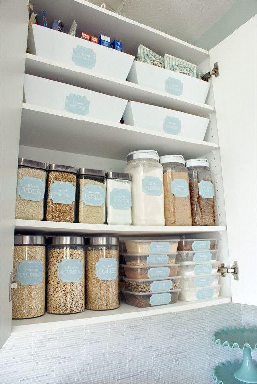 6 Ideias para organizao da cozinha