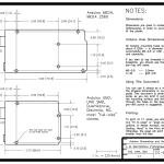 Arduino Uno and Mega Dimensions