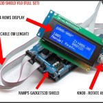 Configure Marlin Firmware with Ramps 1.4 and GADGETS3D Shield with Panel (LCD and SD)