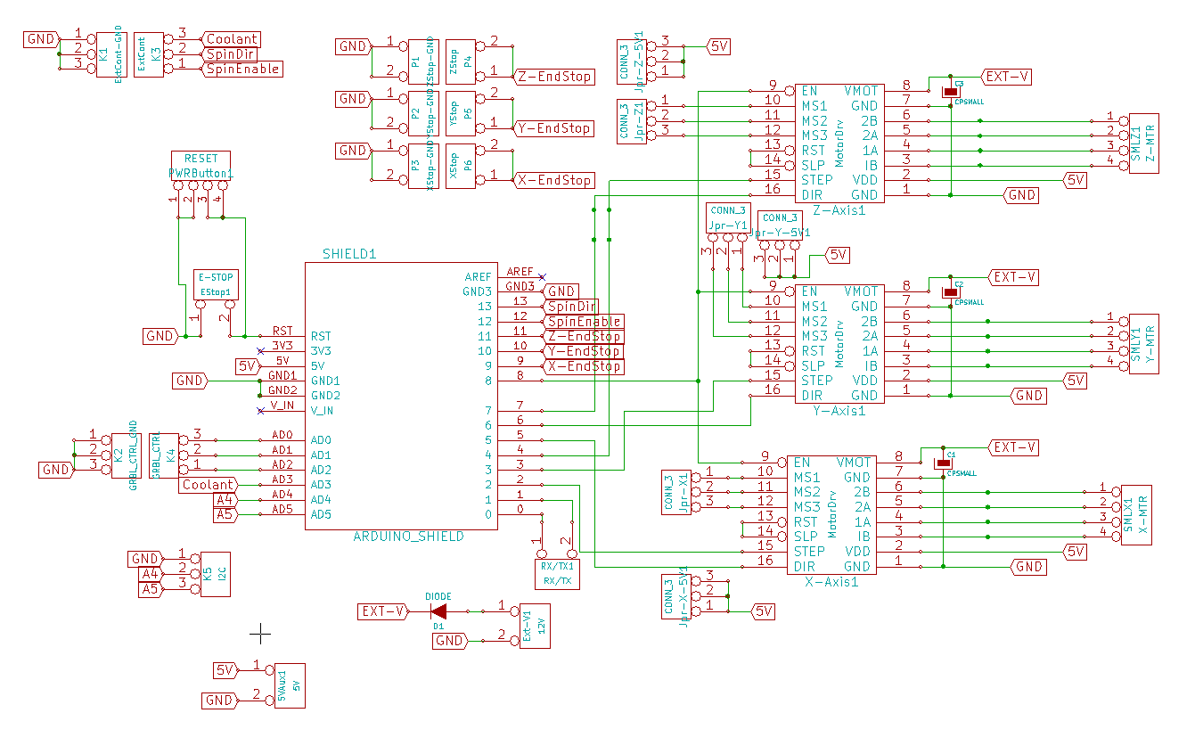 Diy Cnc Wiring Diagram Schematic