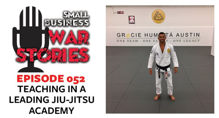 Teaching in a Leading Jiu-Jitsu Academy | Paulo Brandão