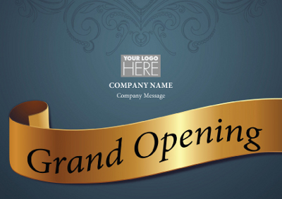 Grand Opening Invitation Card – Inauguration Invitation Card Sample