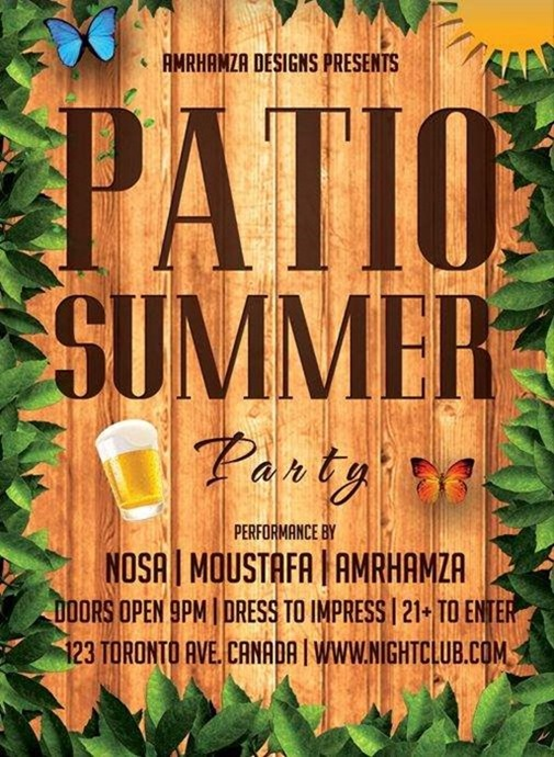 25 Summer Flyer and Poster Templates
