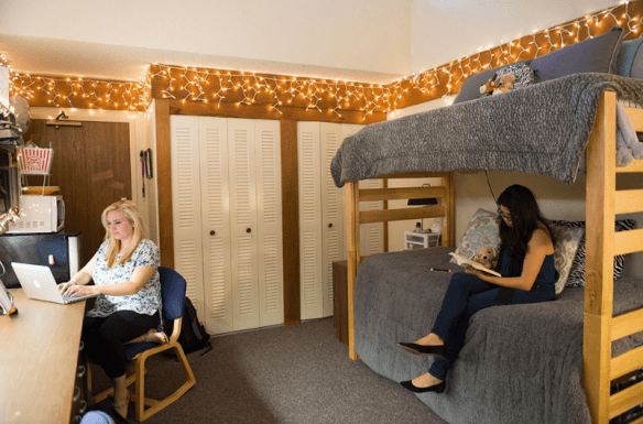 PUC students study in McReynolds Hall.