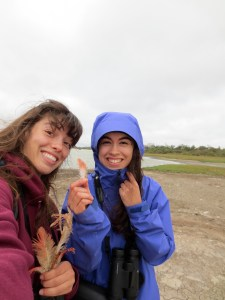 Emily and Erika collaborated with Dr. Floyd Hayes on a study of two bird species native to Paraguay.