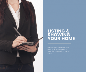 listing and showing your home