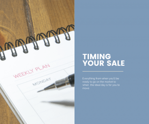 Timing the sale of your home