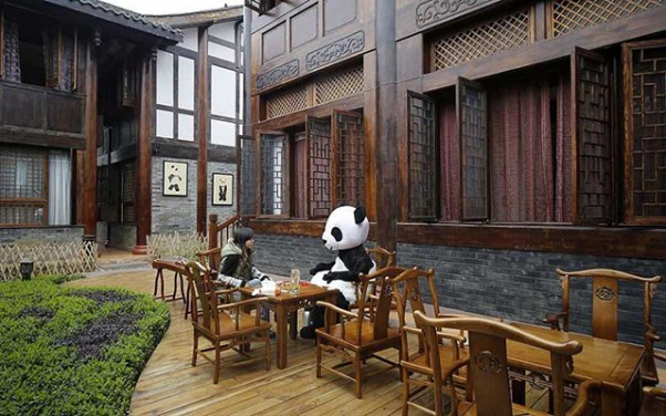 Tea at the Panda Hotel from Purple Travel