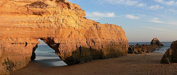 Praia da rocha from PurpleTravel.co.uk
