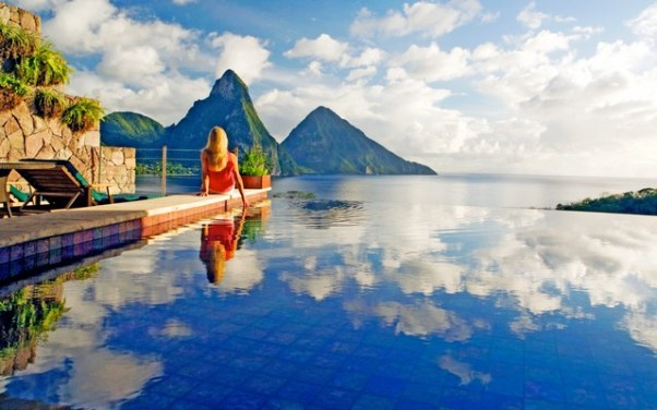 Holidays: Jade Mountain St Lucia