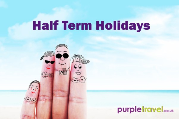 Half term holidays from Purple Travel