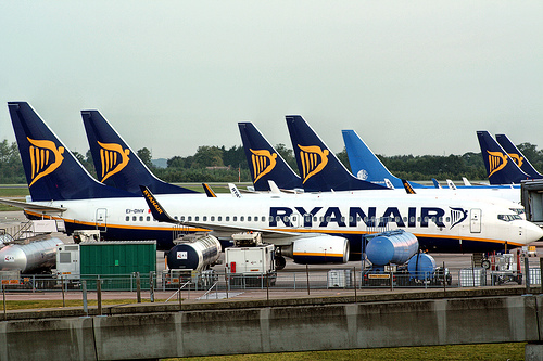 Ryanair from purple travel
