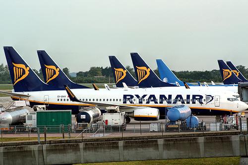 Ryanair from purple travel