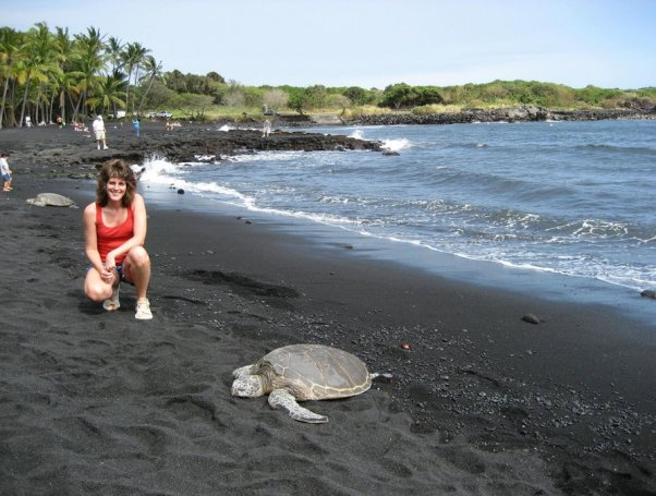 play-with-sea-turtles-on-a-black-sand-beach-in-hawaii