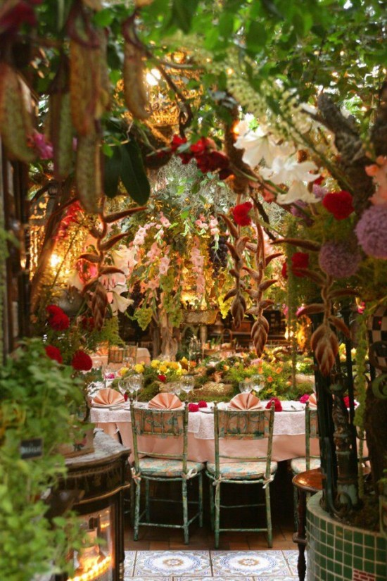 French Floral Restaurant 5
