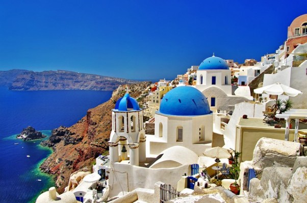 Romantic Santorini from Purple Travel