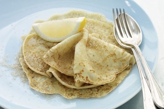 English sweet crepes