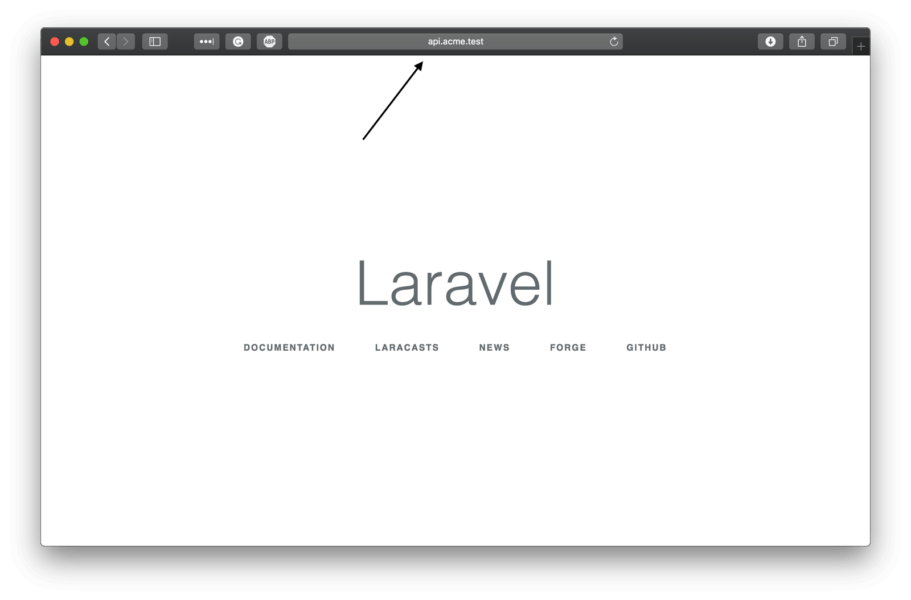 Serving multiple apps with one Laravel codebase using