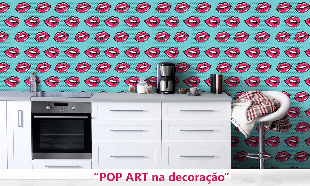 Pop art na decoraçao