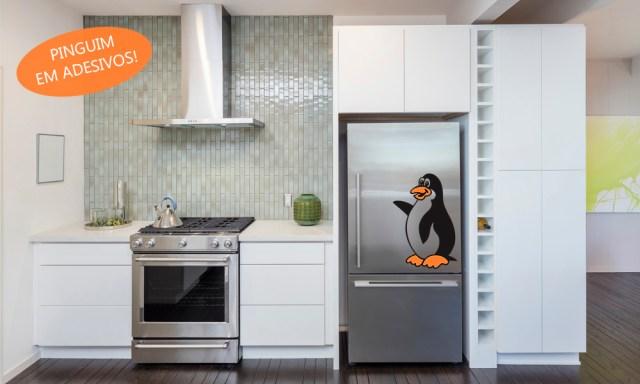 Pinguim Adesivo