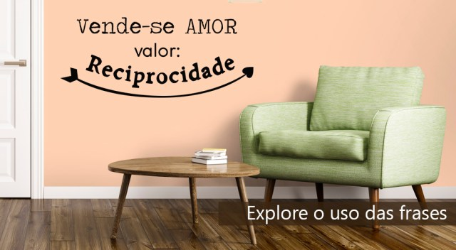 explore as frases