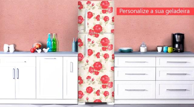 personalize sua geladeira
