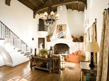 Reese Witherspoons Rustic Ojai Ranch  Abode